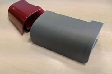 3D Printed Alfa Romeo Replacement Car Part